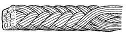 図1724 八つ編み