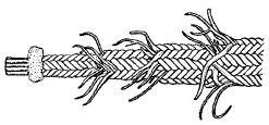 図1725 袋編み