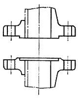 図2420 はめ込み形フランジ