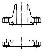 図2421 リングジョイント形フランジ